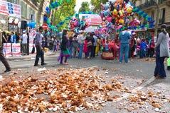 Ganesh Chaturthi Festival Paris France Immagine Stock Libera da Diritti