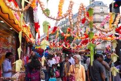 Ganesh Chaturthi Festival Paris France Royalty Free Stock Photo