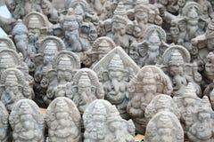 Ganesh chaturthifestival i hyderabad, Indien Royaltyfria Bilder
