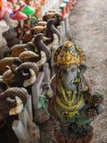 Ganesh Closed com a boneca foto de stock royalty free