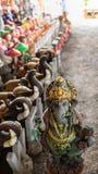 Ganesh Closed com a boneca fotografia de stock