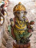 Ganesh Closed com a boneca do elefante imagem de stock royalty free