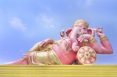 Ganesh cor-de-rosa Fotografia de Stock Royalty Free