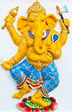 Ganesh is de god van India Stock Foto's