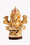 Ganesh dourado Fotografia de Stock Royalty Free