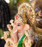 Ganesh ,elephant god, figure closeup Royalty Free Stock Images