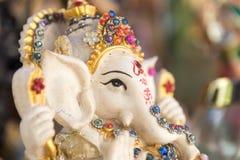 Ganesh ,elephant god, figure closeup Royalty Free Stock Photos