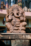 Ganesh, elephant headed son of Shiva. Goa-India royalty free stock photos