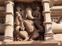 Ganesh, elephant headed son of Shiva Royalty Free Stock Photo