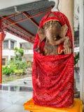 Ganesh en templo hindú Imágenes de archivo libres de regalías