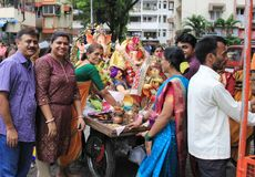 Ganesh Festival Stock Photo