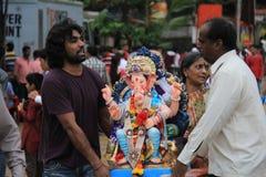 Ganesh Festival in Mumbai Royalty Free Stock Photos