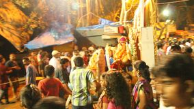 Ganesh Festival stock video