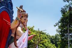 Ganesh festiwal, Wrzesień, 2015 Obraz Royalty Free