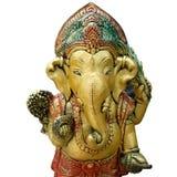 Ganesh god elephant god isolated white. Scene of ganesh god elephant god isolated white Royalty Free Stock Photos