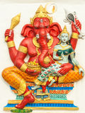 Ganesh. The god of Hindu.  in Wat Samanrattanaram Stock Photos