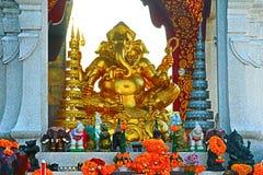 Ganesh-Gold Stockfotos