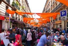 Ganesh Hindu Festival Paris France Imagen de archivo