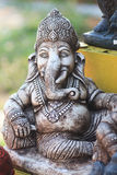 Ganesh hindu god statue in bali thailand. Background Royalty Free Stock Image
