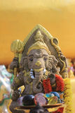 Ganesh hindu god statue in bali thailand. Bavkground Royalty Free Stock Images