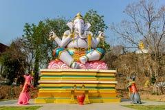 Ganesh i Thailand Arkivbilder