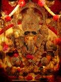 Ganesh Idol tachonado Fotografía de archivo libre de regalías