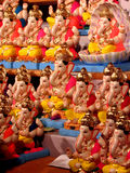 Ganesh Idols. Lord Ganesh Idols for sale in India Royalty Free Stock Images
