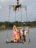 Ganesh Immersion-Hindu festival Royalty Free Stock Images