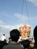 Ganesh Immersion-Hinduistisches Festival Stockbild