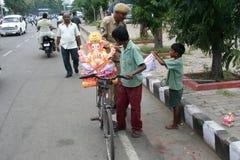 Ganesh Immersion-Hinduistisches Festival Stockbilder