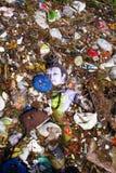 Ganesh Immersion-Wasser Verunreinigung Lizenzfreies Stockfoto