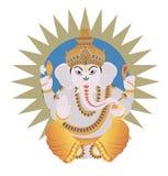 Ganesh indou illustration libre de droits
