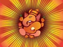 Ganesh indou de Dieu illustration de vecteur