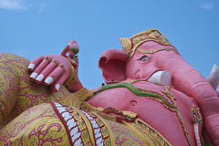 Ganesh largest pink. In Thailand Royalty Free Stock Photo