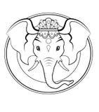 Ganesh logo - BW Stock Photography