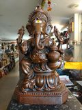 Ganesh - Lord van succes Royalty-vrije Stock Fotografie