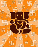 ganesh lorda shree Zdjęcia Royalty Free