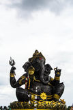 Ganesh made of auto parts Stock Photo