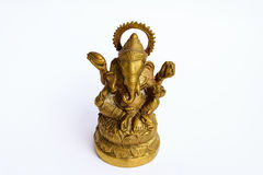 Ganesh models. An elephant-headed deity, son of Shiva and Parvati. Worshiped as the remover of obstacles and patron of learning, he is usually depicted colored stock photos