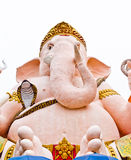 Ganesh pink isolates Stock Image