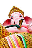 Ganesh pink isolates Royalty Free Stock Photography