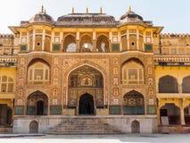 Ganesh Pol ad Amber Palace fotografia stock libera da diritti