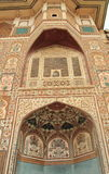 Ganesh Pol Gate in Amer Fort. fotografie stock