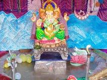 Ganesh Puja fotografering för bildbyråer