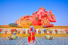 Ganesh in relax position Royalty Free Stock Photography