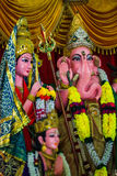 Ganesh. Is religious of Hindu which many people need to pray the Royalty Free Stock Photography