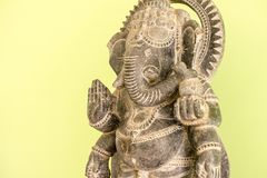 Ganesh Sacred as the worship of the Indian people in Hinduism. Hinduism, indian, culture Royalty Free Stock Image