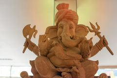 Ganesh Sacred as the worship of the Indian people in Hinduism. Hinduism, indian, culture Royalty Free Stock Images
