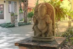 Ganesh Sacred as the worship of the Indian people in Hinduism. Hinduism, indian, culture Royalty Free Stock Photography