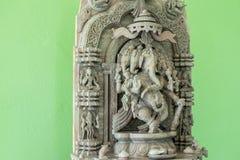 Ganesh Sacred como la adoración de la gente india en Hinduismo Imagenes de archivo